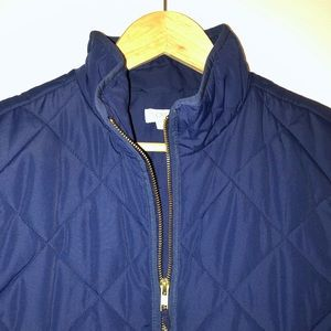 Jcrew quilted puffer vest!
